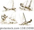 yachting 13813098