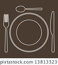 fork, knife, spoon 13813323