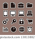 Business icon set 13813882