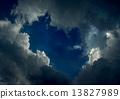 cloudy dark sky 13827989