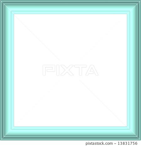 Simple Frame Light Blue 13831756