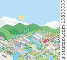 城市風光 城市景觀 市容 13835535