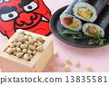紅色惡魔 惠方壽司卷 日式春捲 13835581