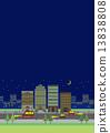 야경 빌딩 밤 도시 13838808