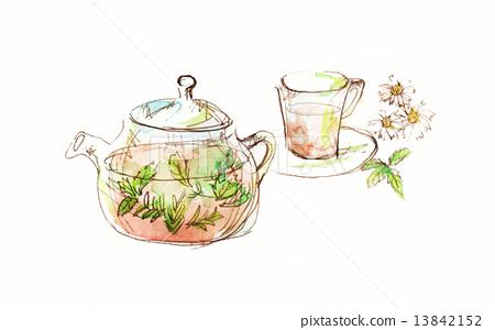 herbal tea, beauty, flavor 13842152
