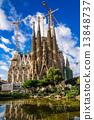 스페인 사그라 다 파밀리아 탄생의 외관 13848737