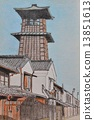 kawagoe, time bell, sketch 13851613
