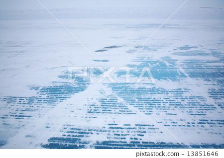 加拿大冰路世界上最長的加拿大冰路冰路 13851646