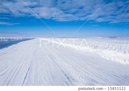 世界上最長的冰路加拿大冰路加拿大冰河 13853122