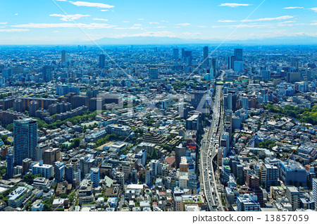 From Roppongi Hills, it faces the streets of Shibuya direction 13857059