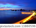 View of Ao Manao bay in Prachuap Khiri Khan, Thailand 13860596