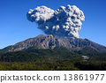Plume of Sakurajima 13861977