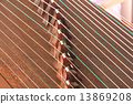 Strings and bridges of Chinese ancient instrument Gu Zheng 13869208