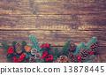 branch, pine, wooden 13878445