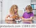 cat, girl, child 13883183