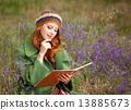 pen,note,redhead 13885673