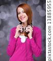 耳机 女孩 少女 13885955