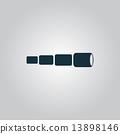 望遠鏡 小望遠鏡 玻璃 13898146