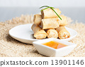 Thai Spring Roll Appetizers 13901146