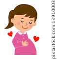 maternity, pregnant, woman 13910003