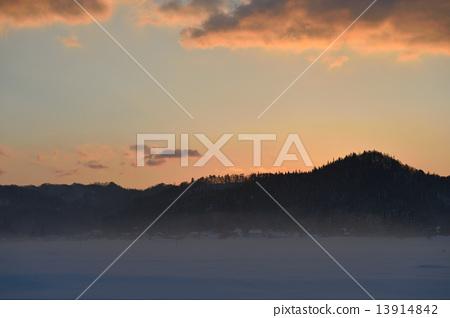 Shinshu白马雪国家冬天图象 13914842