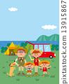 家人 家庭 營地 13915867
