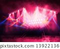階段 光線 燈 13922136