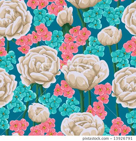 Floral seamless pattern 13926791