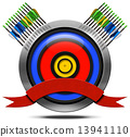 Archery Metal Icon 13941110