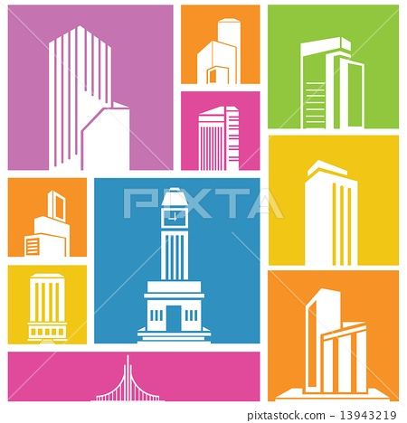 building icons 13943219