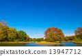 แหล่งน้ำ,สระน้ำ,ท้องฟ้าเป็นสีฟ้า 13947712