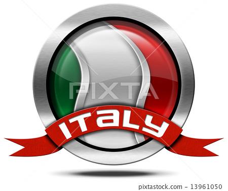 Italy Flag - Metal Icon 13961050