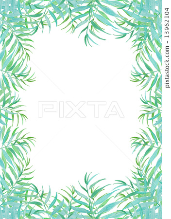 Palm leaves Palm coconut green leaf tropical tropical hot Hawaii Okinawa Bali Bali Resort resort Wind refreshing natural sky travel summer summer vacation tropical palm background frame frame wallpaper bag 13962104