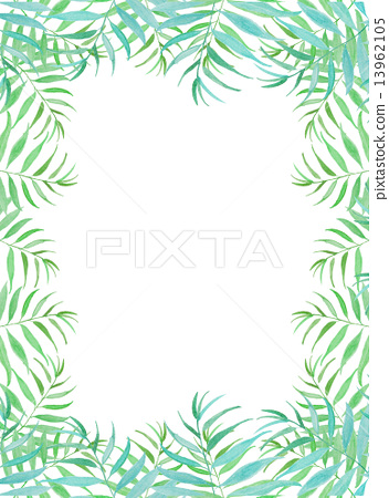 Palm leaves Palm coconut green leaves tropical tropical hot Hawaii Okinawa Bali Bali Guam resort style refreshing natural sky travel summer summer vacation tropical palm background frame frame wallpaper bags 13962105