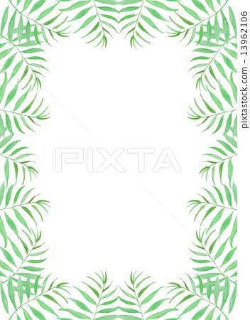 Palm leaves Palm coconut green leaf blue tropical tropical hot Hawaii Okinawa Bali Bali Resort resort Wind refreshing natural sky travel summer holiday summer vacation tropical palm background frame frame wallpaper 13962106