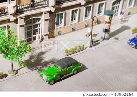 車道立體模型 13962164
