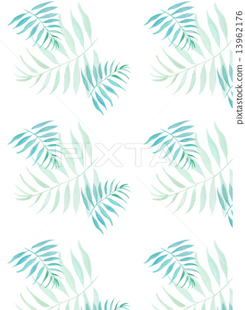 Palm leaves Palm coconut green leaves tropical tropical hot Hawaii Okinawa Bali Bali Guam resort style refreshing natural sky travel summer vacation vacation tropical palm background blue wallpaper background 13962176