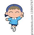 kindergarten, pupil, kindergartener 13964797