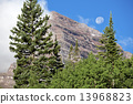 Full Moon and Maroon Bells 13968823