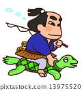 浦岛太郎 乌龟 人物 13975520