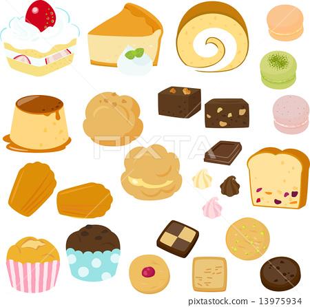 蛋糕和糕點 13975934