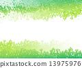 綠色 綠 樹木 13975976