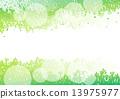 綠色 綠 樹木 13975977