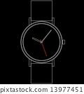 手腕 观看 手表 13977451