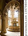 interior of Santa Maria da Vitoria Monastery, Batalha, Estremadu 13979804