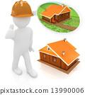 plan, architect, 3d 13990006
