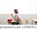 吃午飯的女學生 13990351