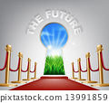 The Future conceptual illustration 13991859