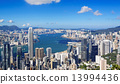 hong kong city day 13994436