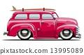 van, retro, car 13995089